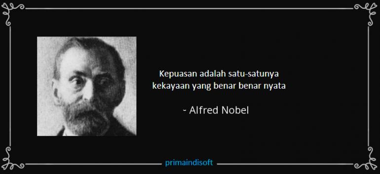 Alfred Nobel, Bapak Dinamit