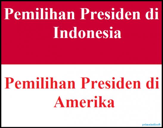 Beda | Pemilu Amerika | Pemilu Indonesia