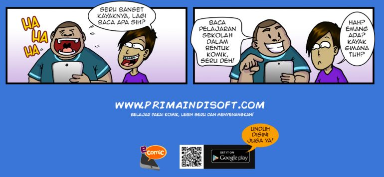 Education comic e-learning best method