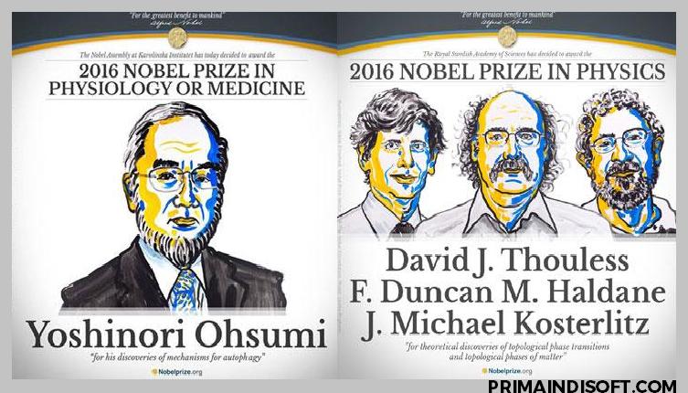 pemenang nobel 2016