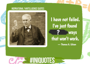 Inspirational and Intelligence Quotes : Thomas A. Edison #1